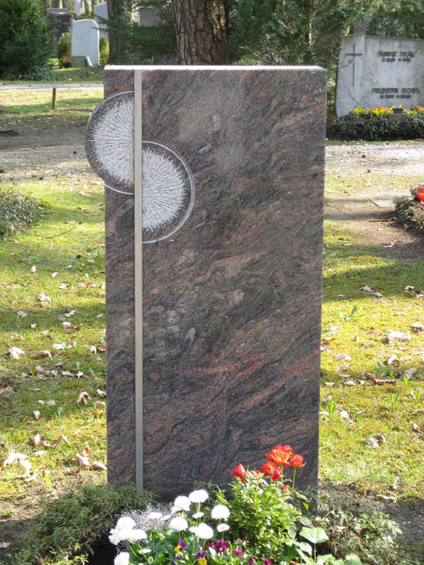 einzelgrabstein, Grabsteine