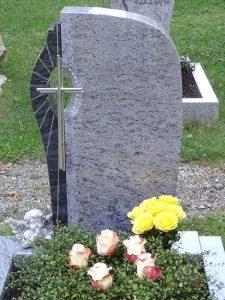 Urnengräber, Grabstein Urnengrab